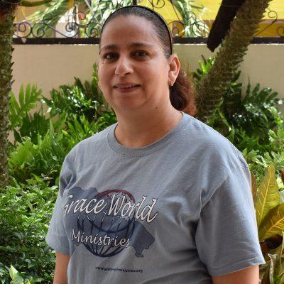 Sertorius Johnson - Elisa Chavez DR Team Volunteer